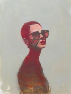 Michael Carson Girls Art Painting and Figurative Painting