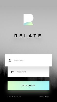 RELATE: A clean, simple UI kit for mobile