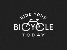Ride your bicycle today by Neil Hubert
