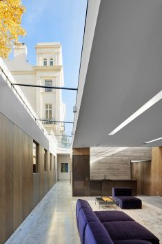 Semi-Subterranean Extension to a Grade II Listed House in North London