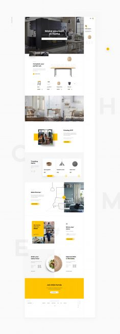 Shopping made personal – IKEA online experience concept