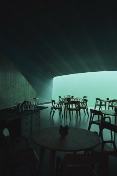 """Under"" – Europe's First Underwater Restaurant / Snøhetta"