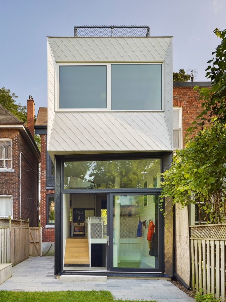 Victorian Era Home in Toronto Gets Two-Storey Modern Addition