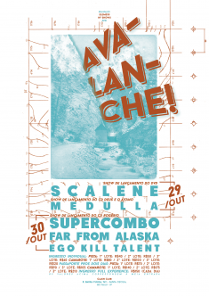 Avalanche Festival (Gig Poster)