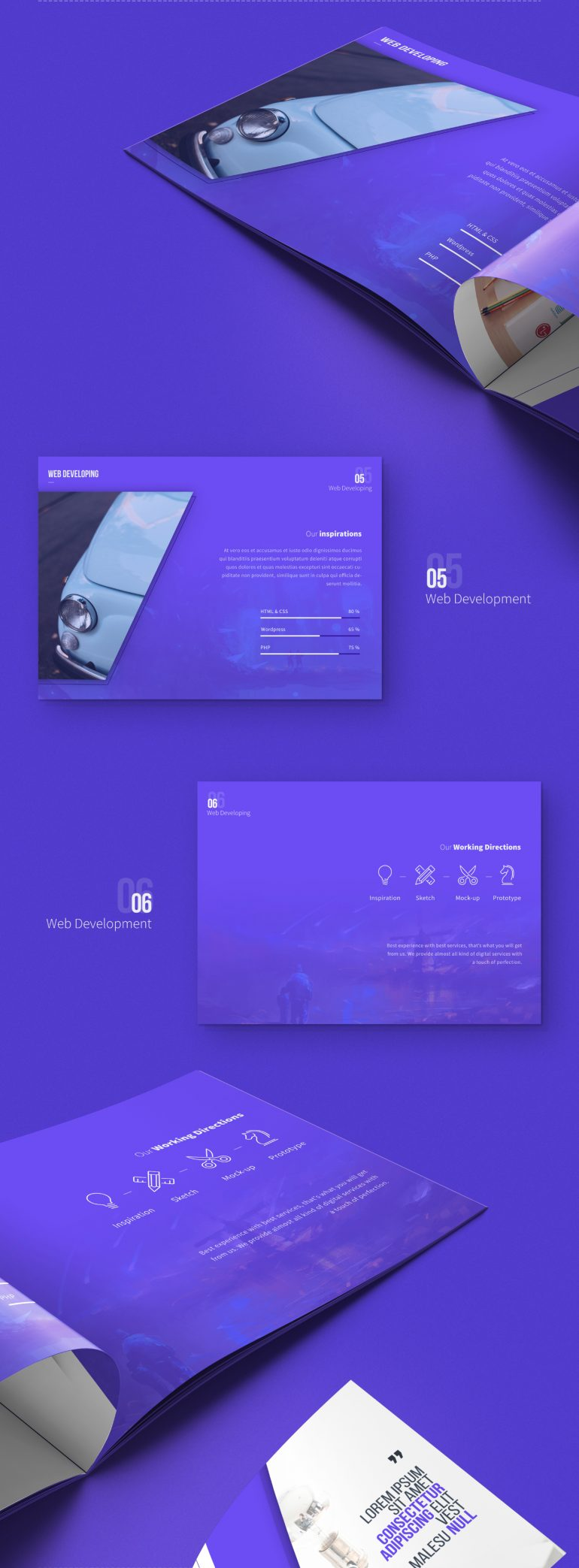 Carsive – 18 Pages Brochure Freebie