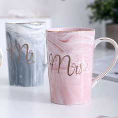 Mr Mrs Couples Mug Set