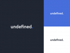 Undefined — Logo Redesign