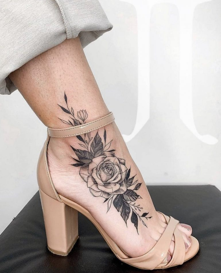 Ankle Tattoos On Inspirationde