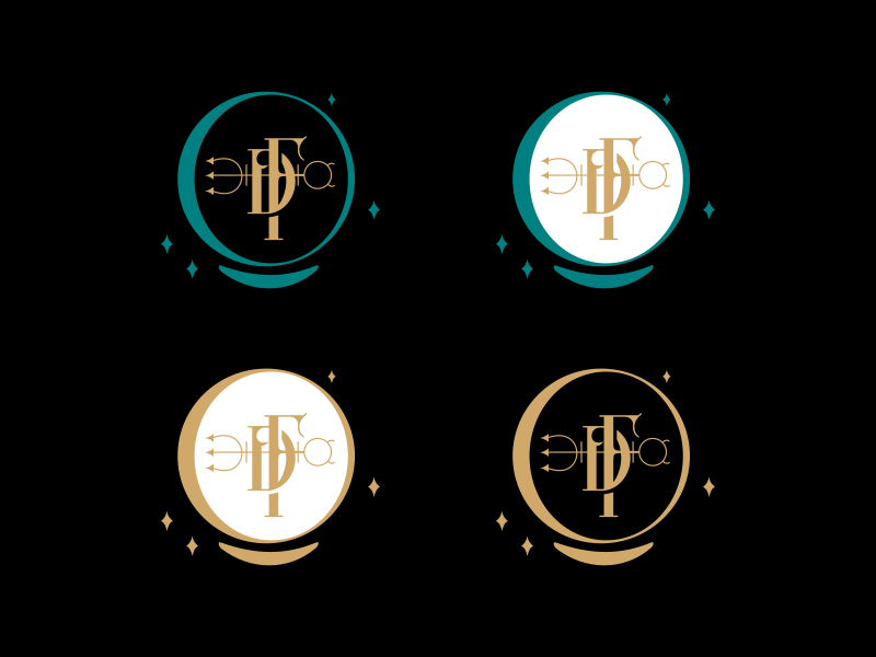 FD astrology monogram
