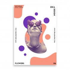 Flowers Poster Design Collection