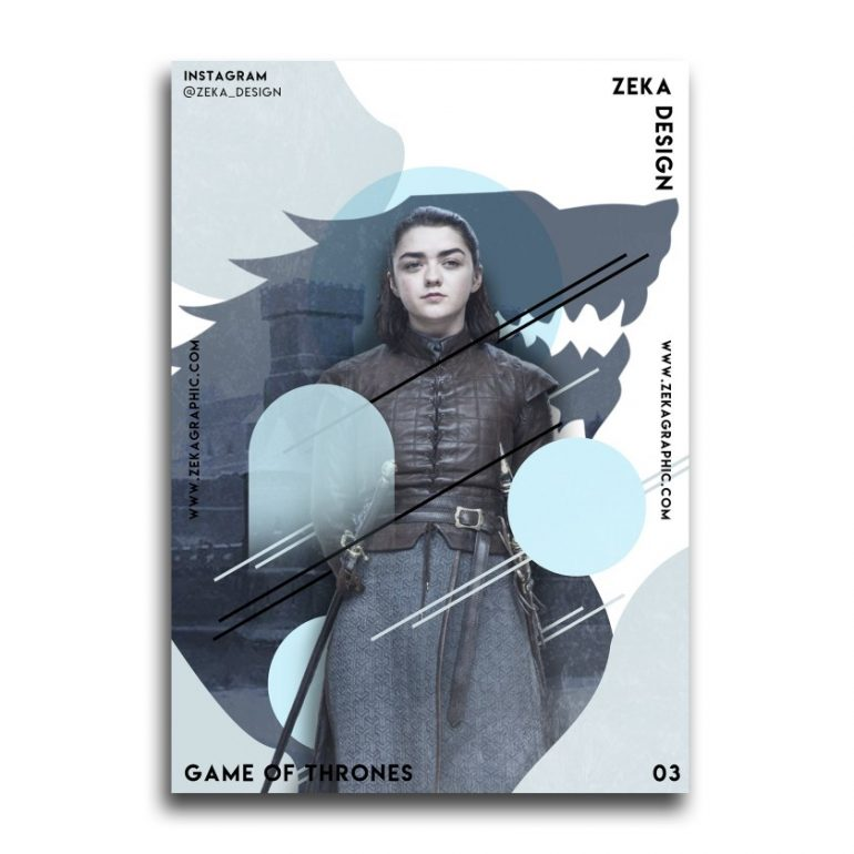 Game Of Thrones Poster Design Collection