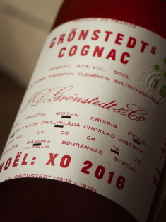Grönstedts cognac redesign and repositioning