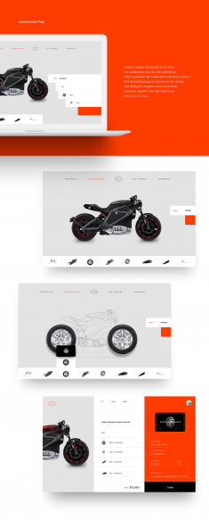 Harley Davidson – Project Livewire Website Redesign