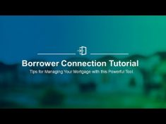 homeloanserv – IHFA Borrower Connection Tutorial