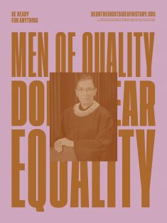 Men of Quality – Be on The Right Side of History