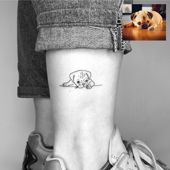 Dog Tattoos 🐶
