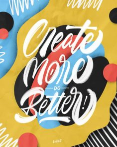 Create More do Better!
