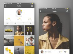 Photo App Concept – iPhone 7