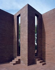 A Summer House with the Red Pool, 1973, Mont-ras , Girona, Spain by Ricardo Bofill Taller De Arq ...