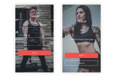 Taakat – Fitness & Workout UI Kit