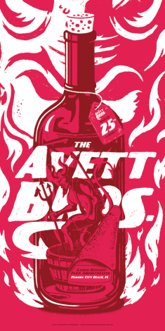 The Avett Brothers Poster – Panama City Beach, FL