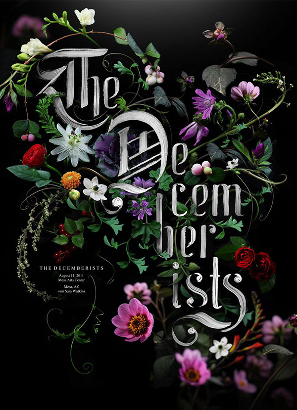 THE DECEMBERISTS • Gig Poster
