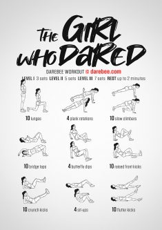 The Girl Who Dared Workout