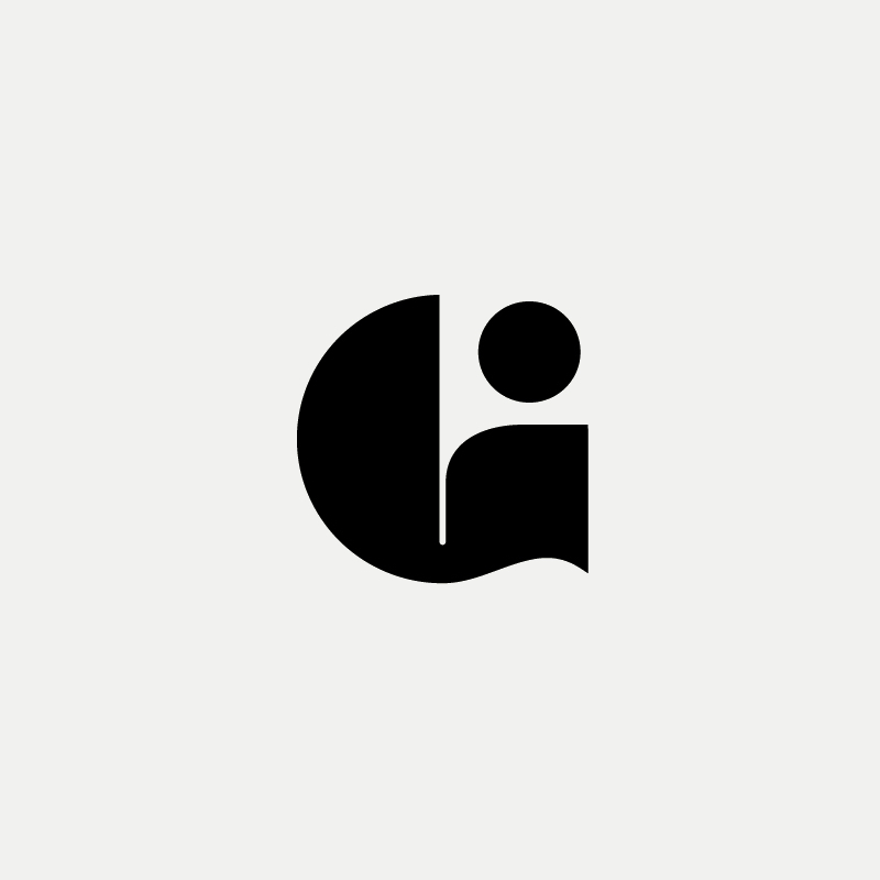G / Person Monogram Logo