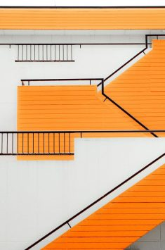 Orange Stair