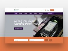 Perfume E-commerce Web Design by Immense Art