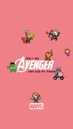 Only an Avenger Can Use My Phone