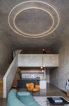 Brutalist Apartment Inspired by a Concrete Bunker: Perfect Storm Loft