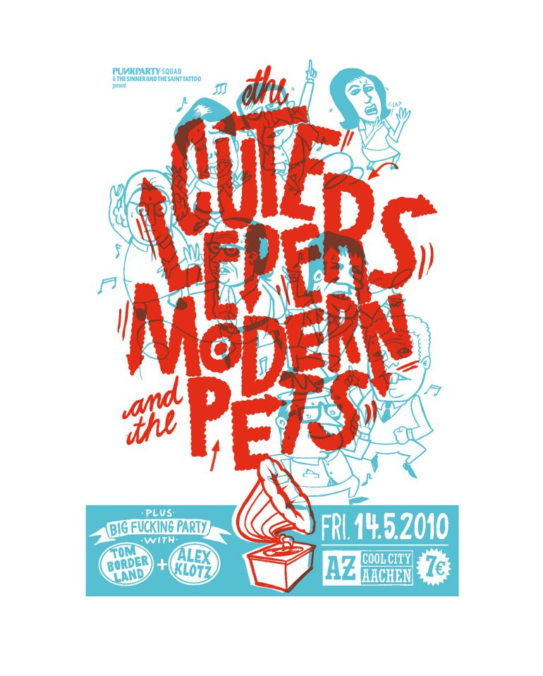 Modern Pets played together with Steve E.'s and Kicks'