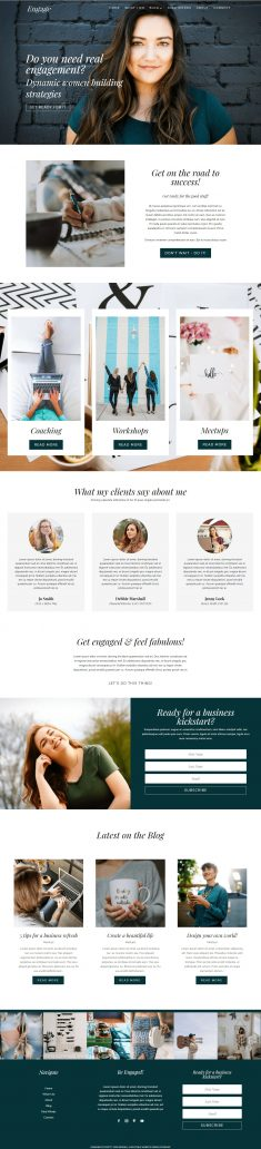 Engage Divi Child Theme WordPress