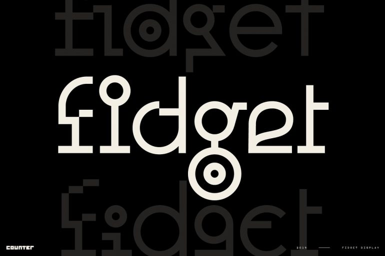 Fidget Display – Modern Mash-up!