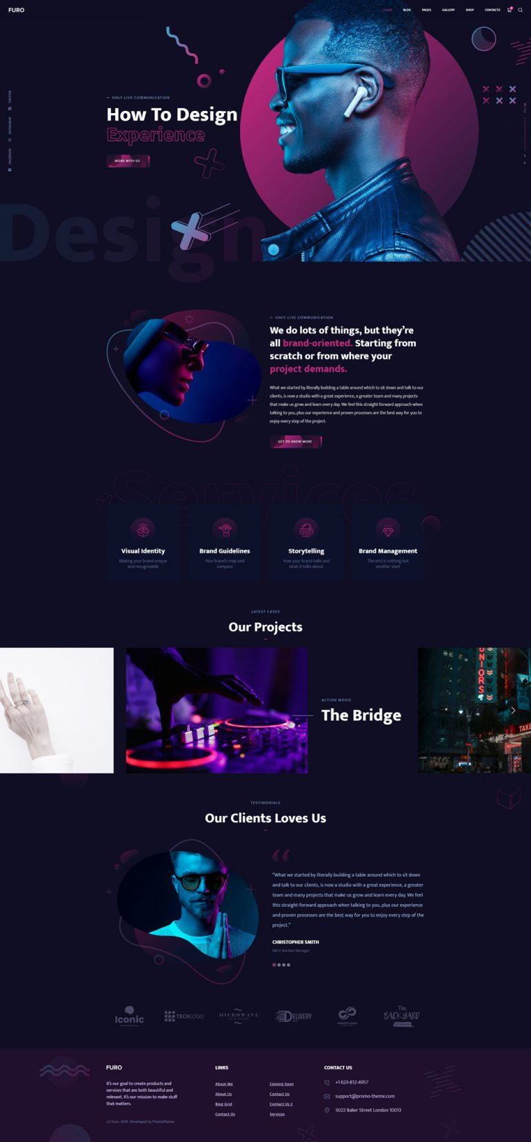 Furo – Creative Template