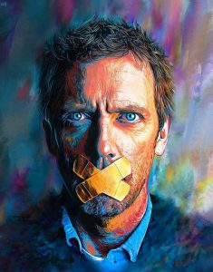 Hugh Laurie – Incurably Himself by NickyBarkla