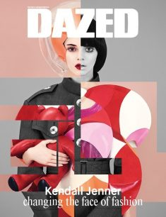 Kendall Jenner Changes Faces for Dazed Winter 2014 Cover
