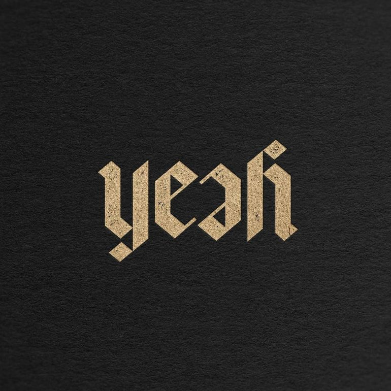 Yeah! here is an ambigram logo 🥰