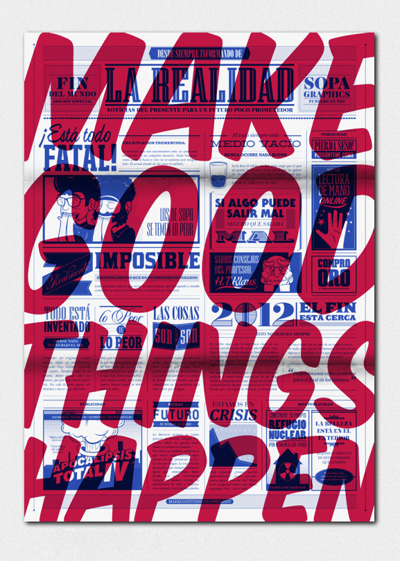 Make good things happen. Poster