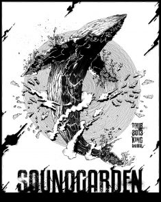 Soundgarden Poster Tour
