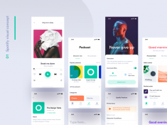 Spotify visual concept – Sneak peek by Matteo Pasuto