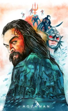 Aquaman – Illustrated Movie Poster