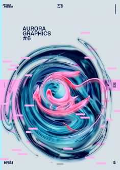 Aurora Graphics #6 Poster #181