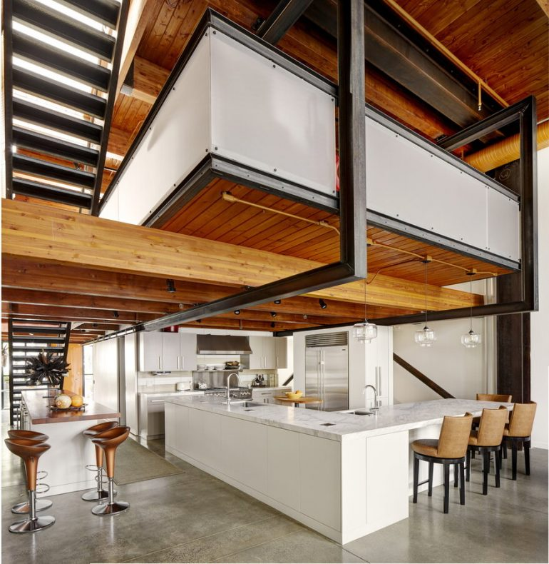 Counterbalance Loft / Eggleston Farkas Architects
