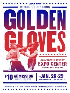 Golden Gloves 2016 Poster