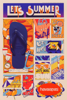 """LET´S SUMMER"" 2019, IT'S ALWAYS SUMMER IF YOU WEAR A PAIR OF HAVAIANAS"