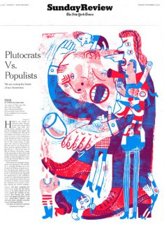 New York Times Sunday Review Cover