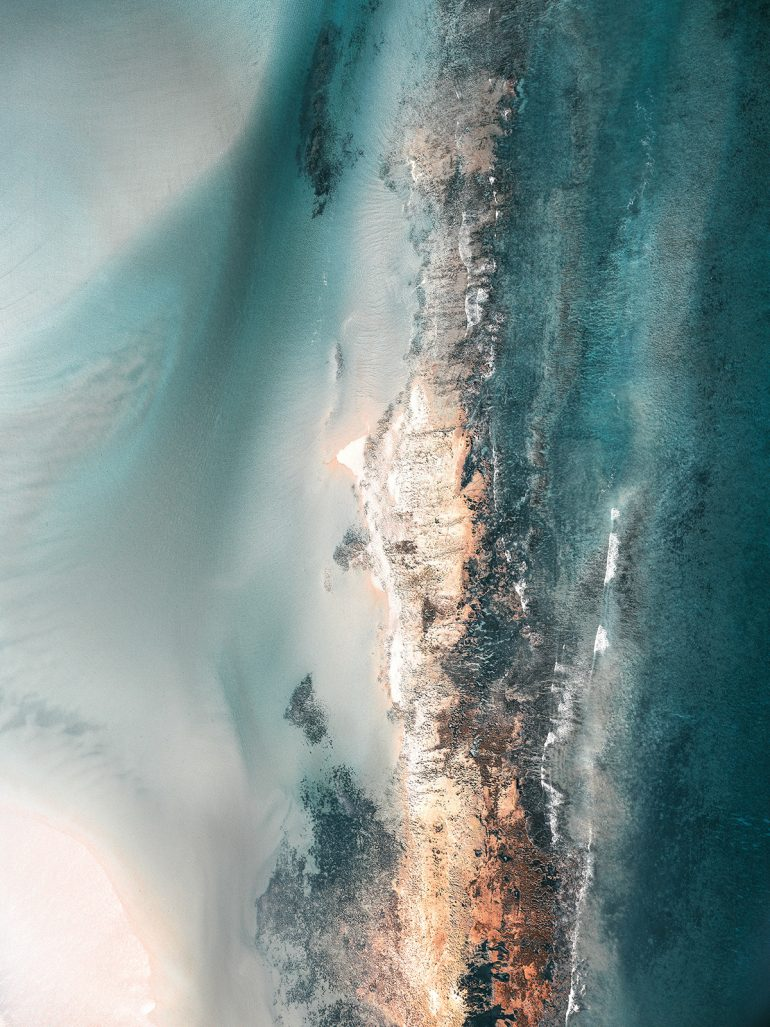 Magical View On Tropical Reefs By Kevin Krautgarner