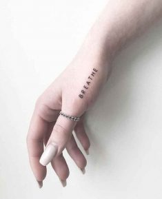 Minimalist Tattoos For Every Girl